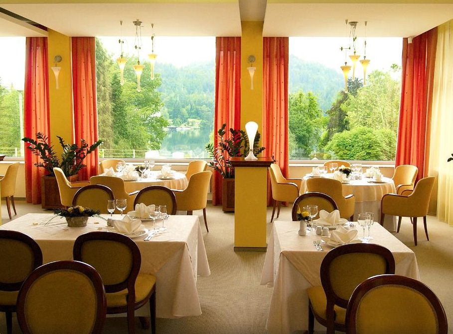 Lots of great restaurants in the Bled area in Slovenia
