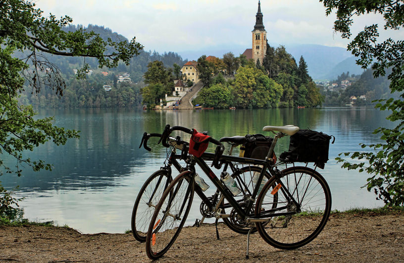 Cycling trips around Bled in Slovenia