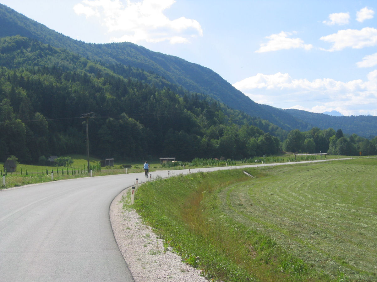 Cycling trip from Bled through the surrounding villages