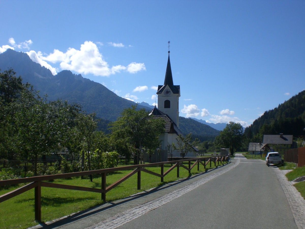 Cycling trip around the Gorenjska region of Slovenia