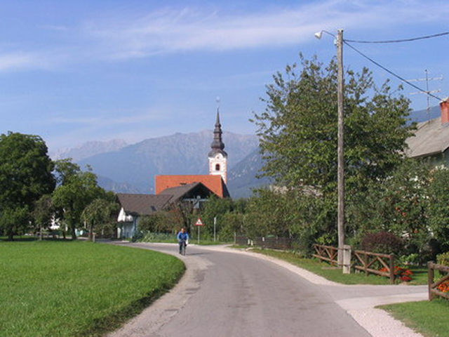 Cycling trip to Radovljica and its surroundings