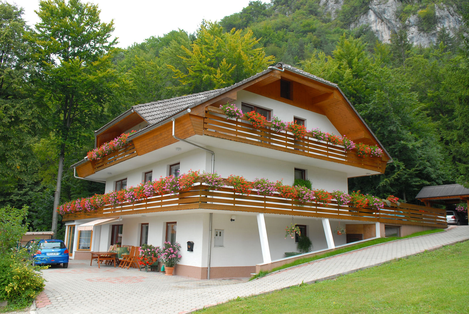 Fine Stay Apartments are located near Bled in Slovenia