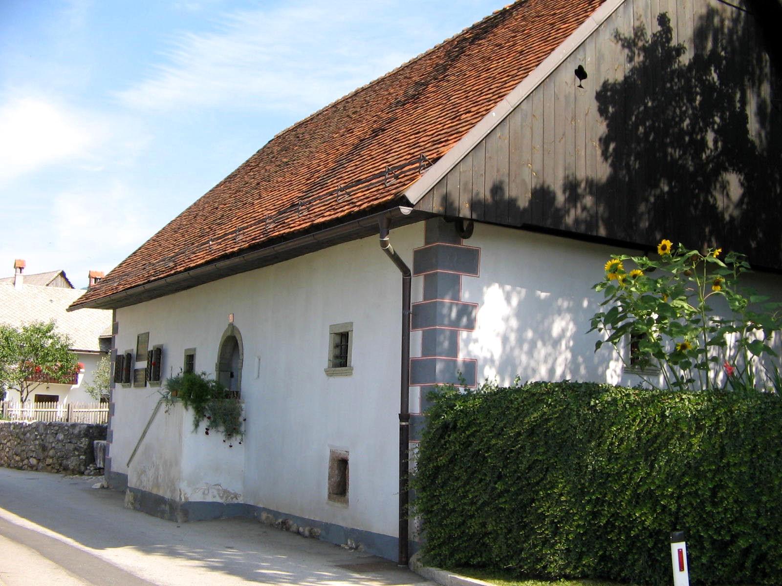 Dr. France Preseren's Birth House in Vrba