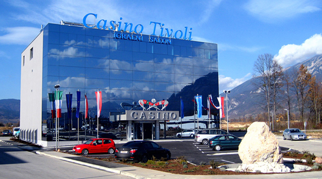 Gaming centre Casino Tivoli in Lesce, Slovenia