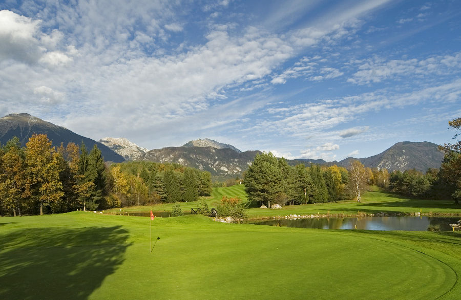 Golf Bled in Slovenia