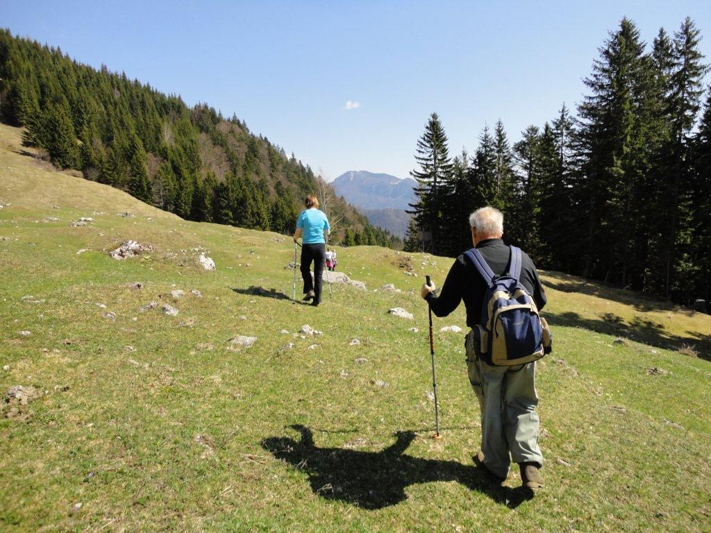 Hiking in the Gorenjska region of Slovenia