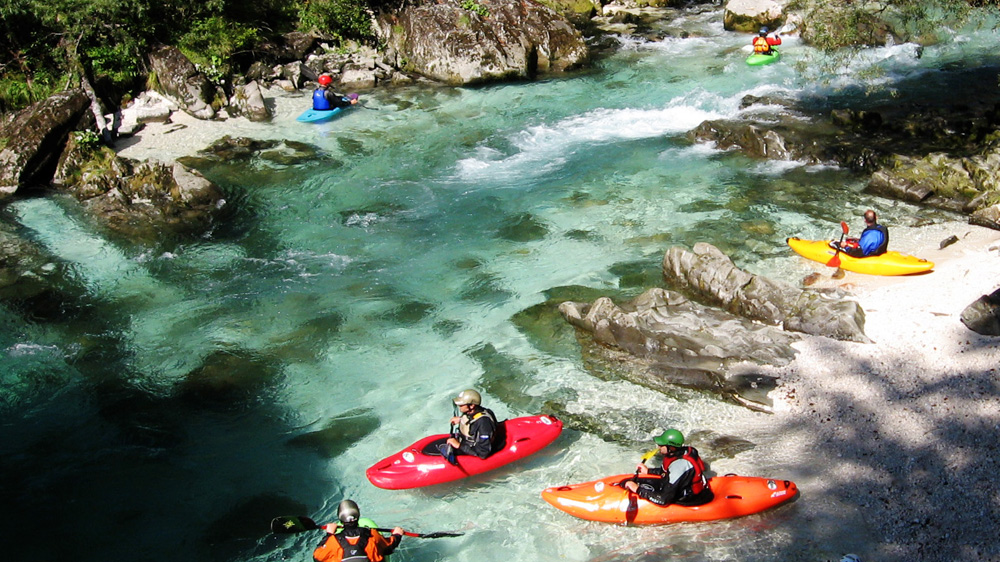 Rafting, Kayaking and Canoening on three nearby rivers