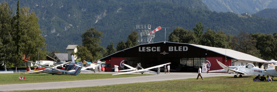 At Lesce Bled Airport you are in the cradle of world skydiving