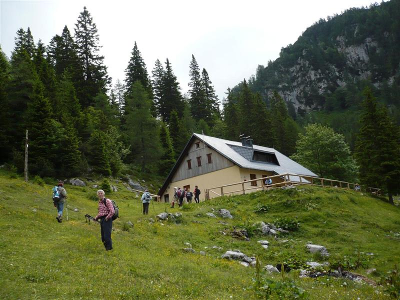 Hut at the source of the Zavrsnica is open from May to October