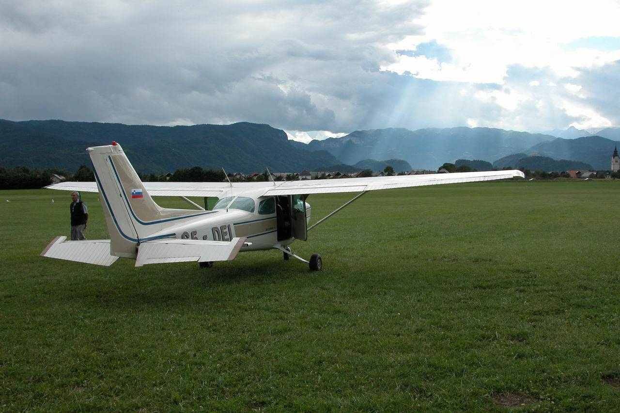 On a panoramic flight from Lesce Bled Airport you can enjoy all the beauties of Bled