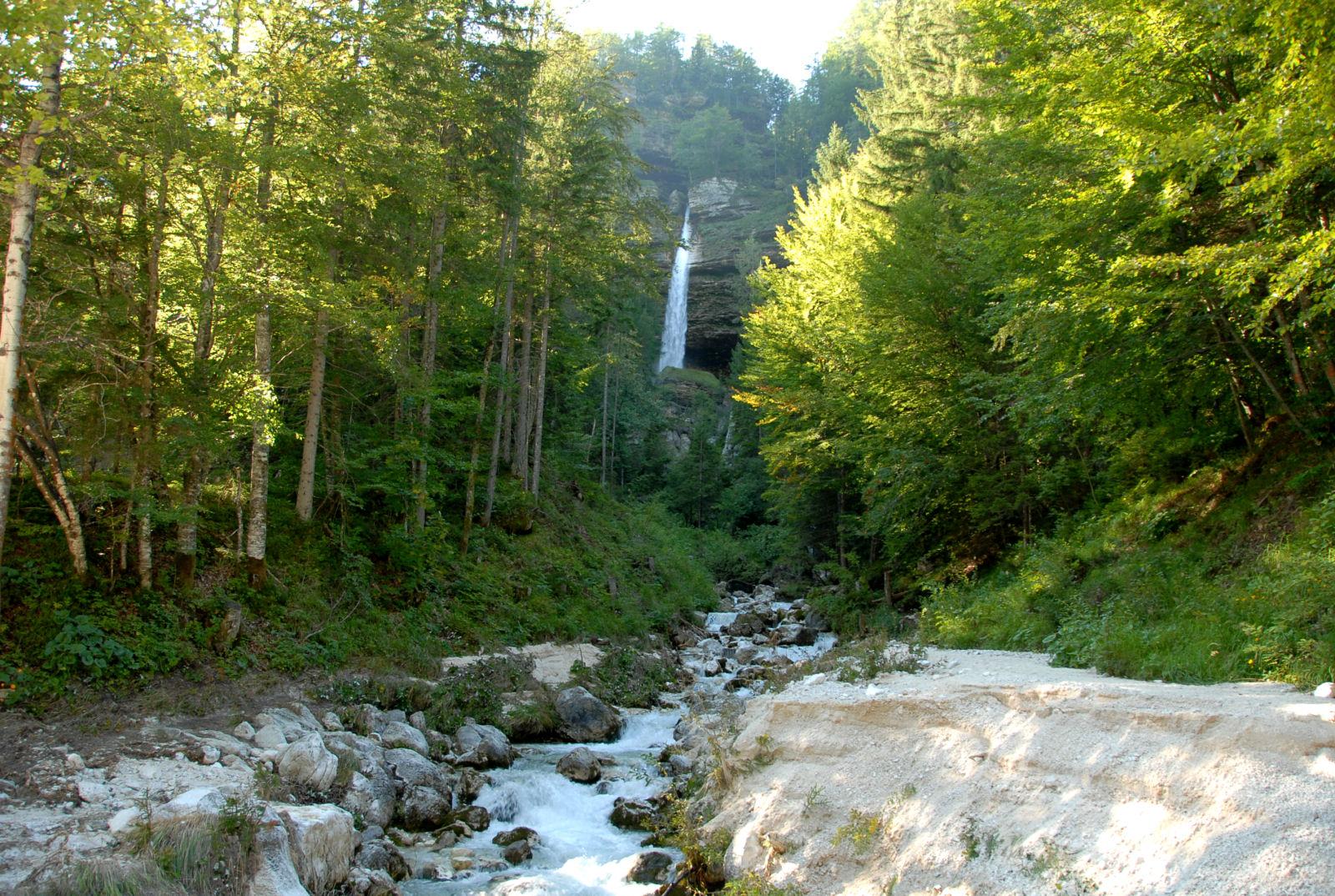Pericnik waterfall, Gorenjska, Slovenia