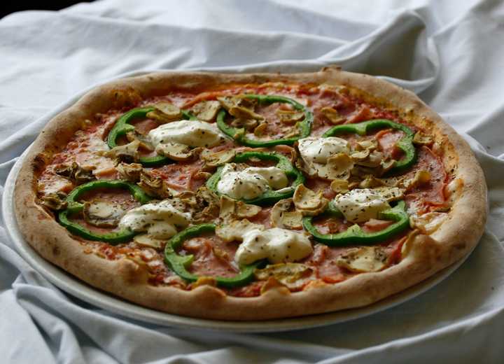 Pizzeria Rustika is known for tasty food