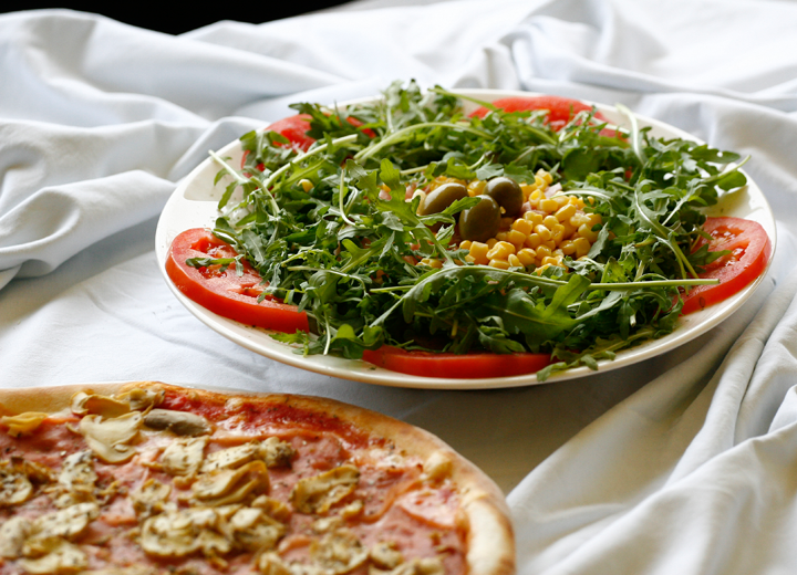 Pizzeria Rustika offers a wide range of salads