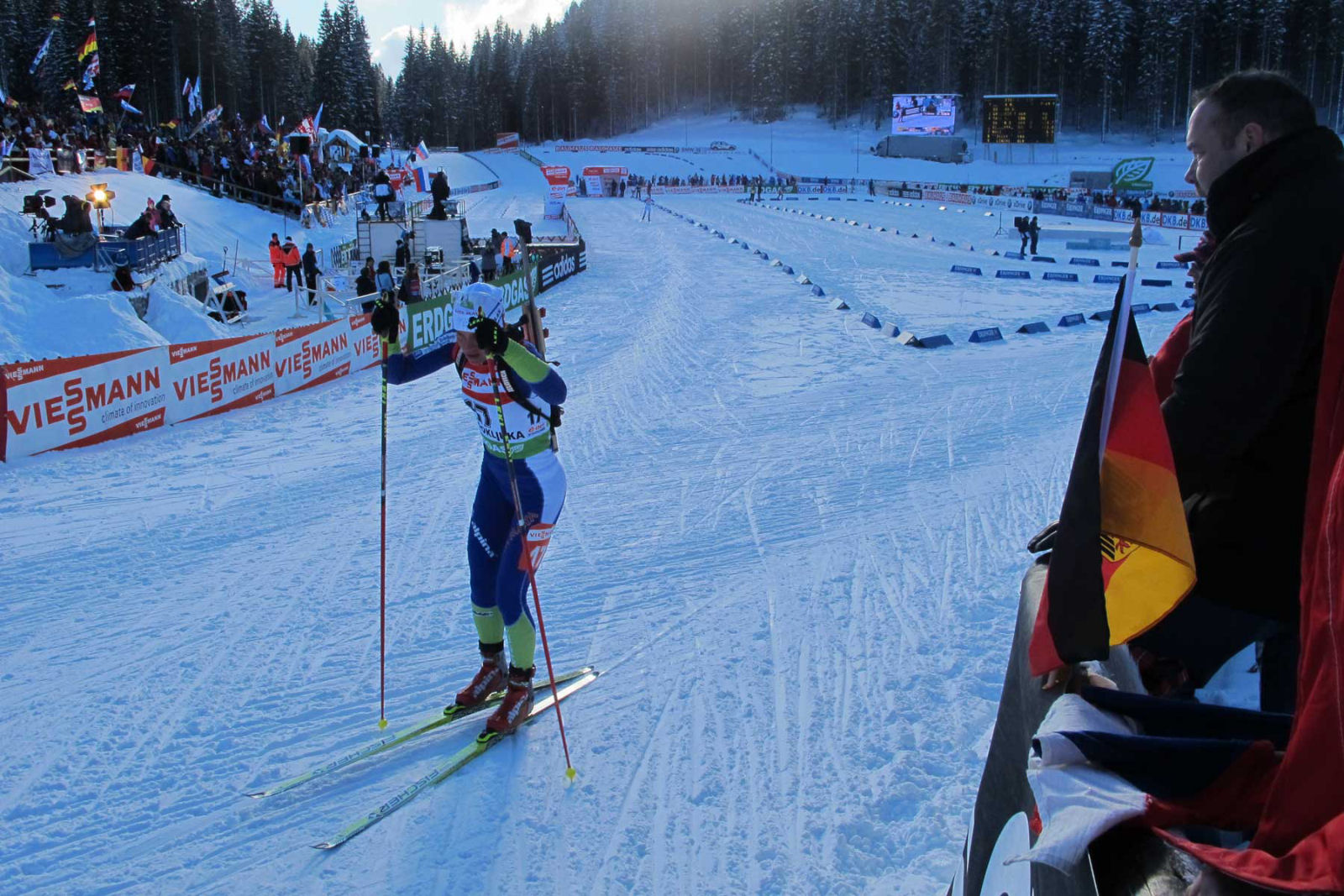 During the winter season Pokljuka turns into a very popular cross-country skiing and biathlon destination