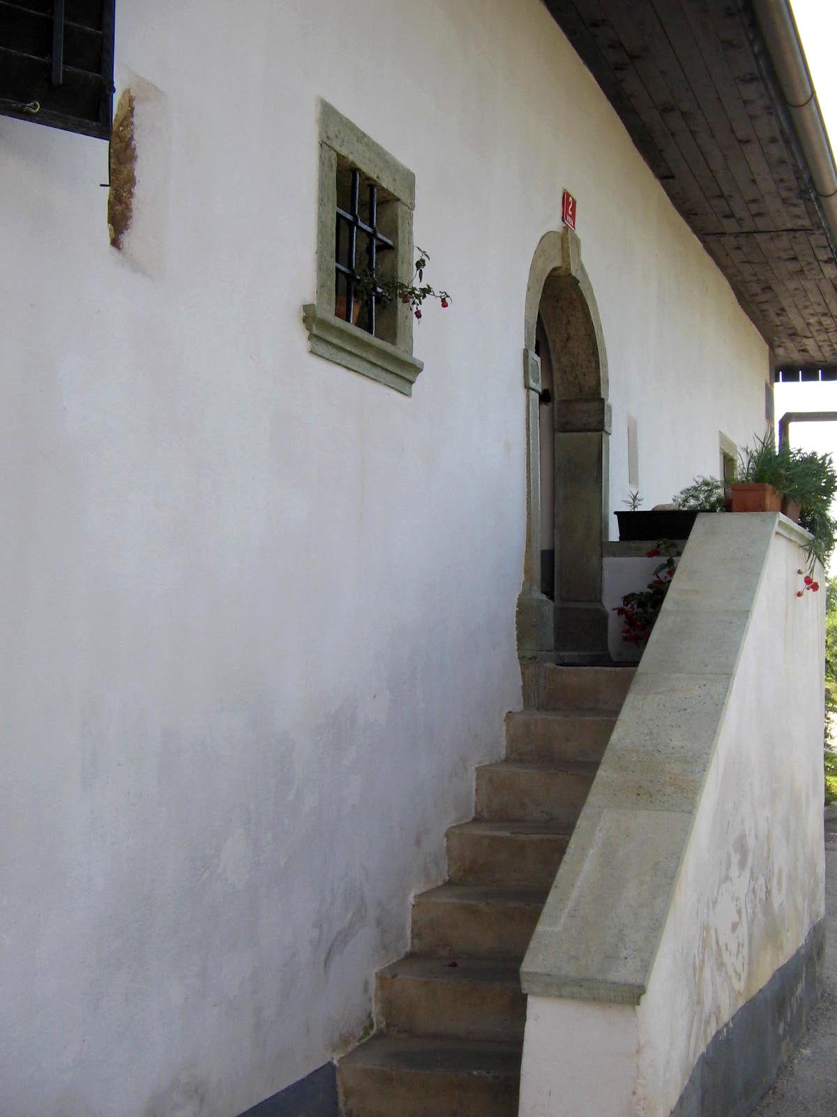 Dr. France Preseren's Birth House entrance