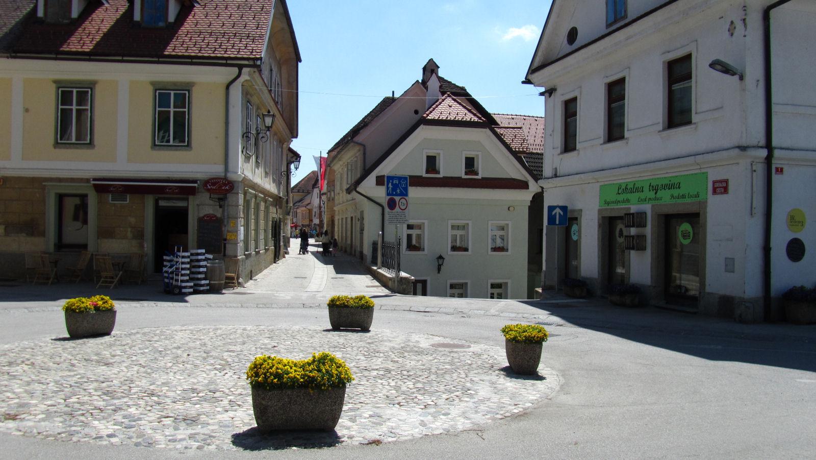 Radovljica medieval old town, Slovenia