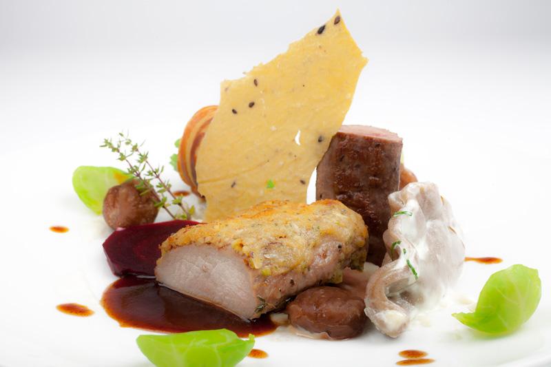 A la Carte Restaurant 1906 Bled great chef