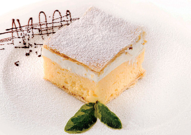 Restaurant and Cafe Park is above all renowned for its offer of original Bled cream cakes