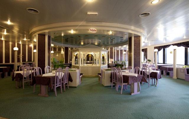 Restaurant and Cafe Park inside