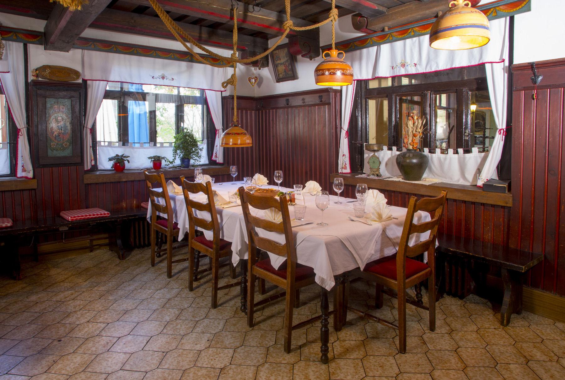 Restaurant Lectar the Joseph's room