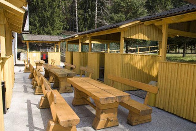 Restaurant Lovski Dom Stol in Slovenia