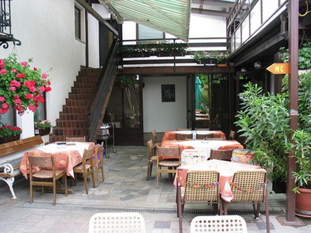 Restaurant Trebusnik terrace in Zirovnica