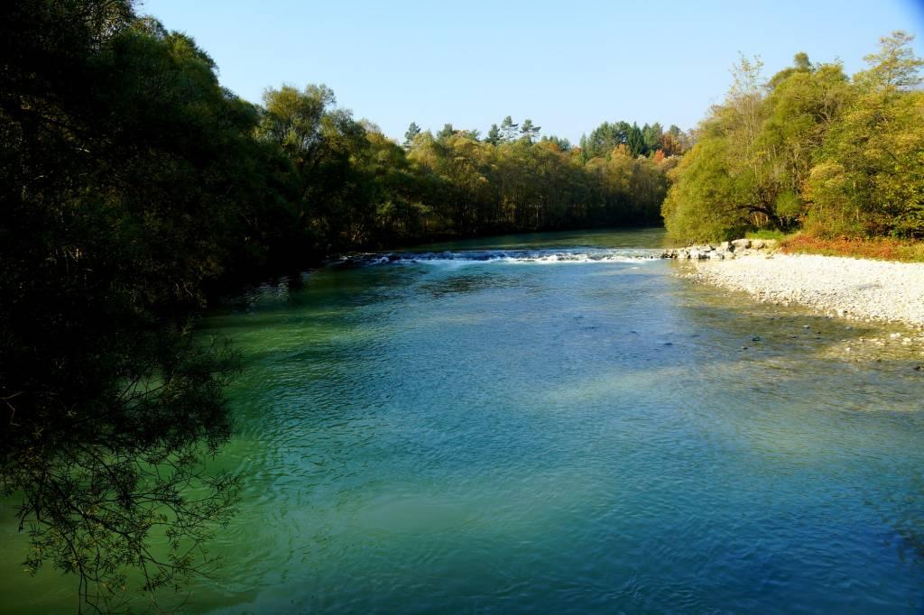 Sava Dolinka river fishing