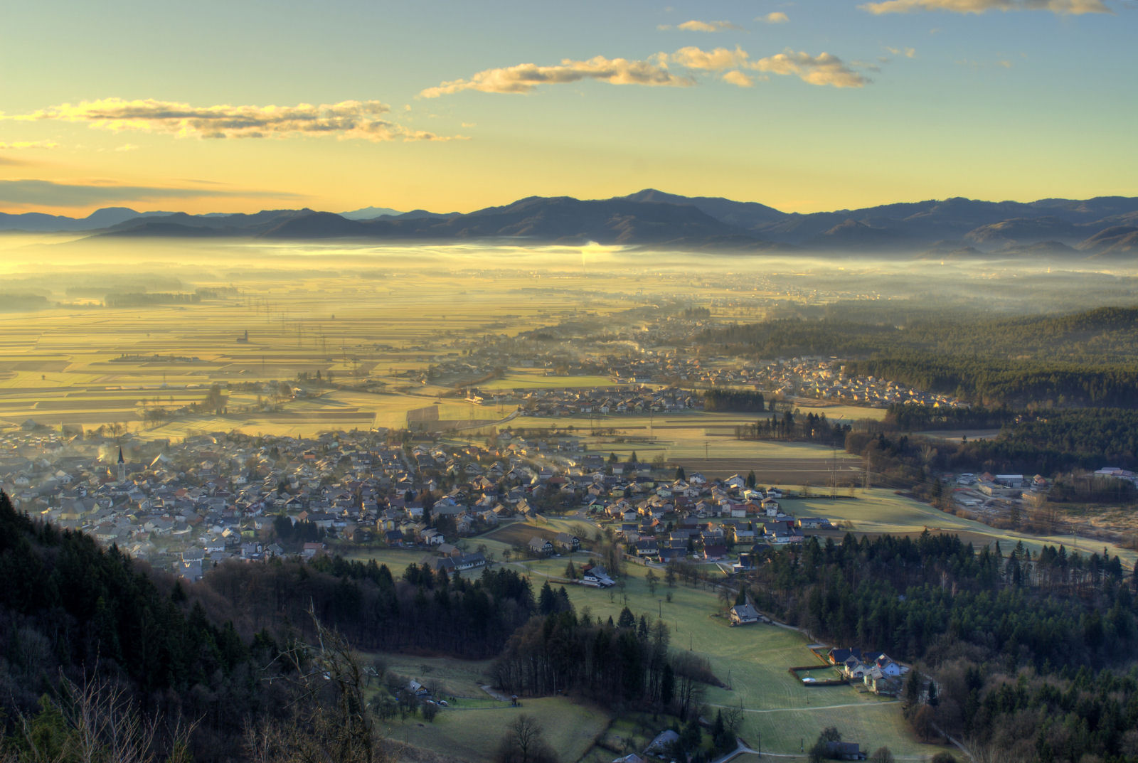 Skofja Loka panorama, Slovenia
