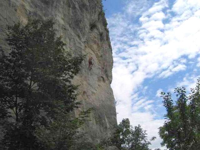 Sport climbing Pod Iglico in Bohinjska Bela