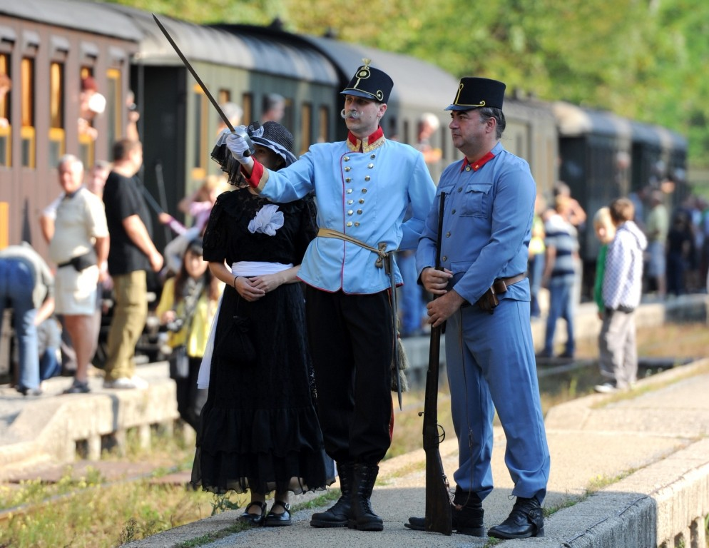 Steam train trips in Slovenia