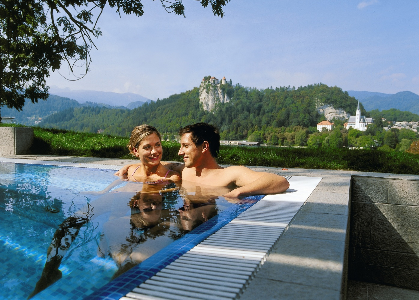 Indoor swimming pools near Lake Bled