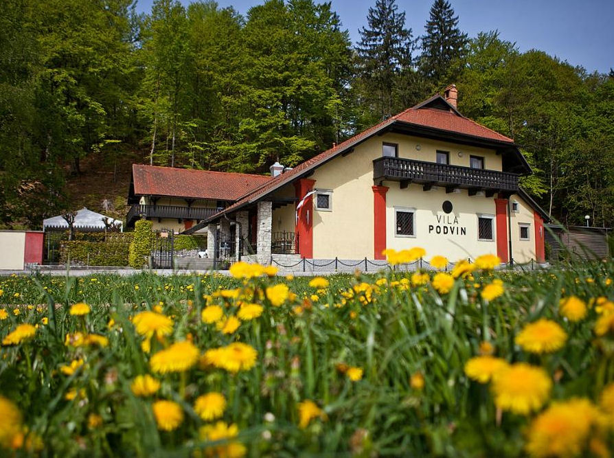 Vila Podvin is run by one of Slovenia's best chefs Uros Stefelin
