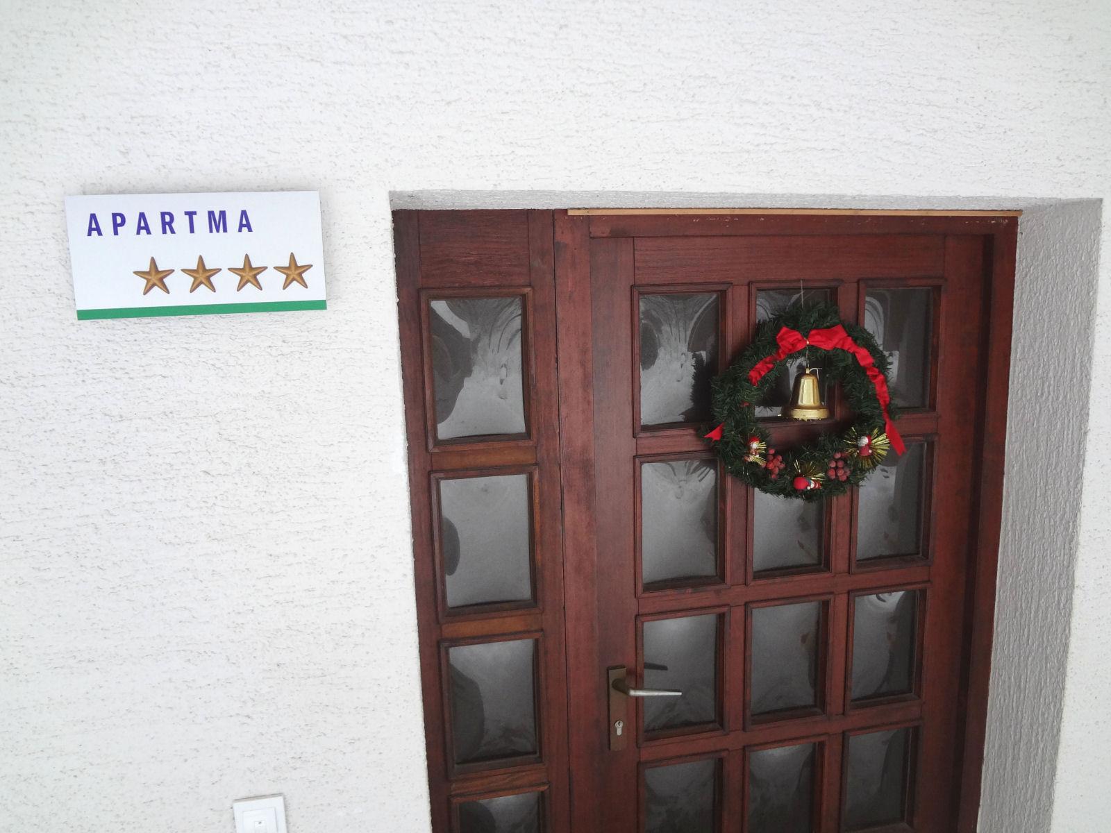 Apartma na Gorenjskem kategoriziran s 4 zvezdicami