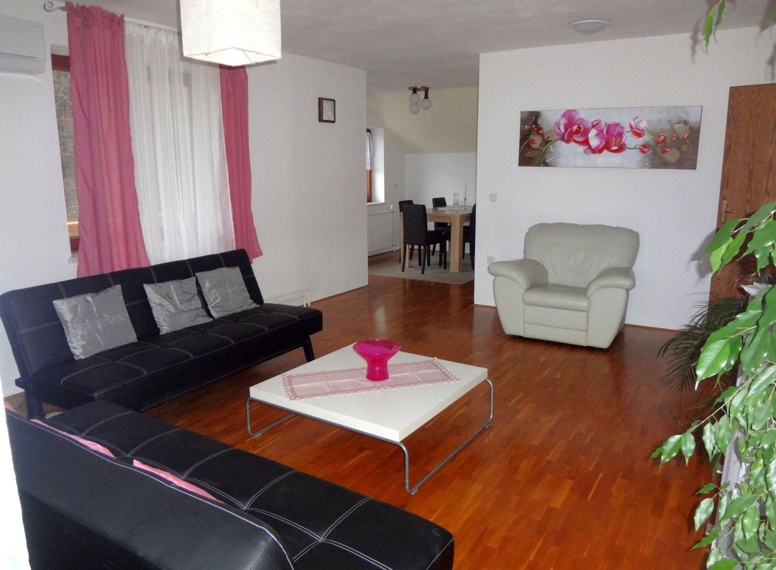 Fine Stay apartma, notranjost, dnevna soba