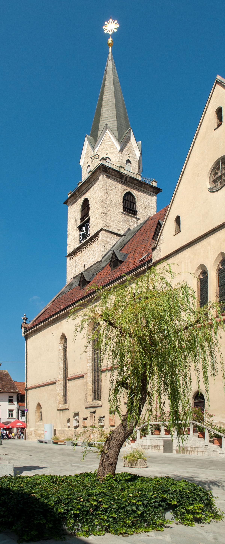 St. Cantianius Church in Kranj, Slovenia