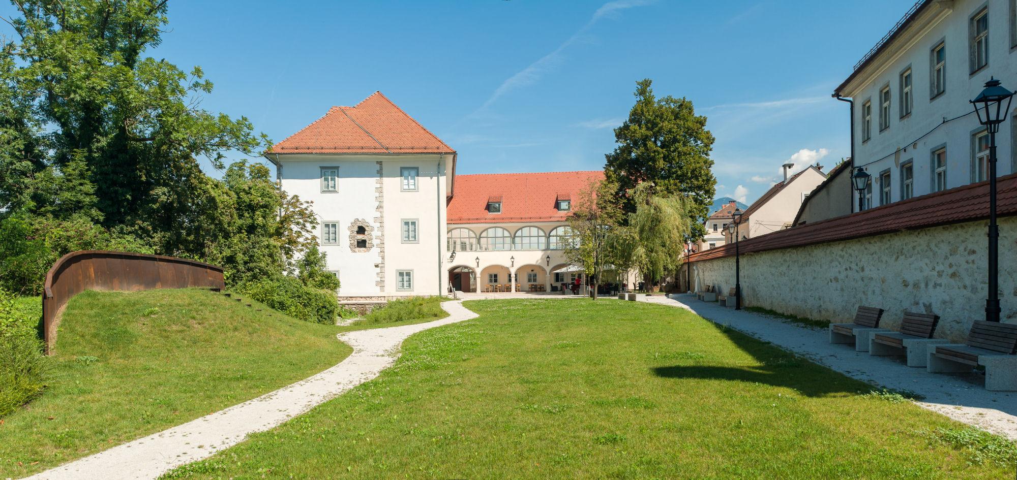 Kieselstein castle in Kranj, Slovenia