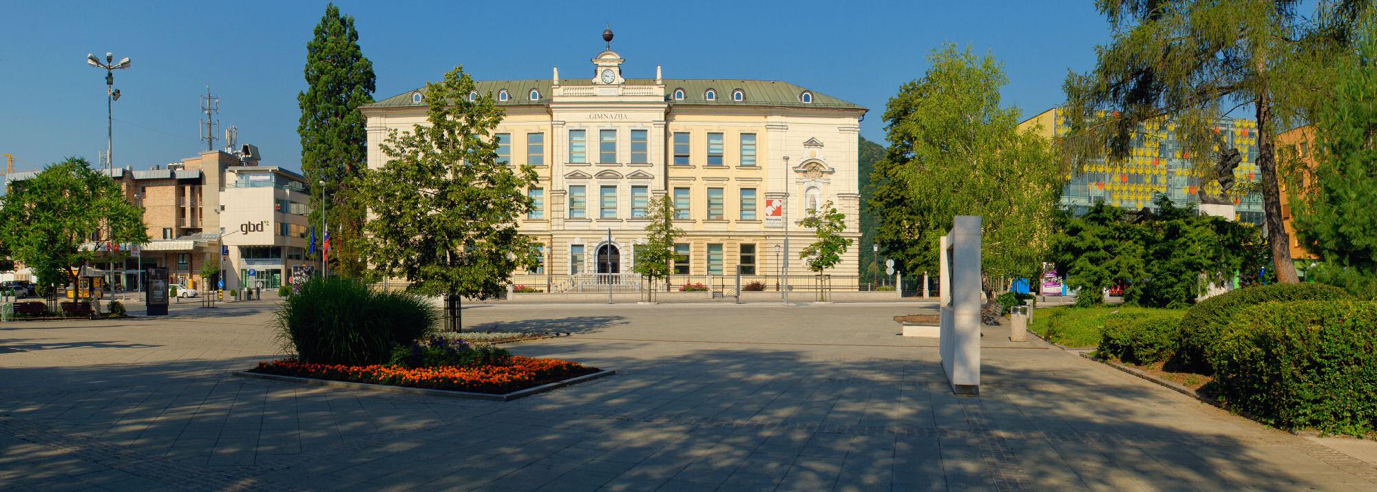 Gymnasium in Kranj, Slovenia