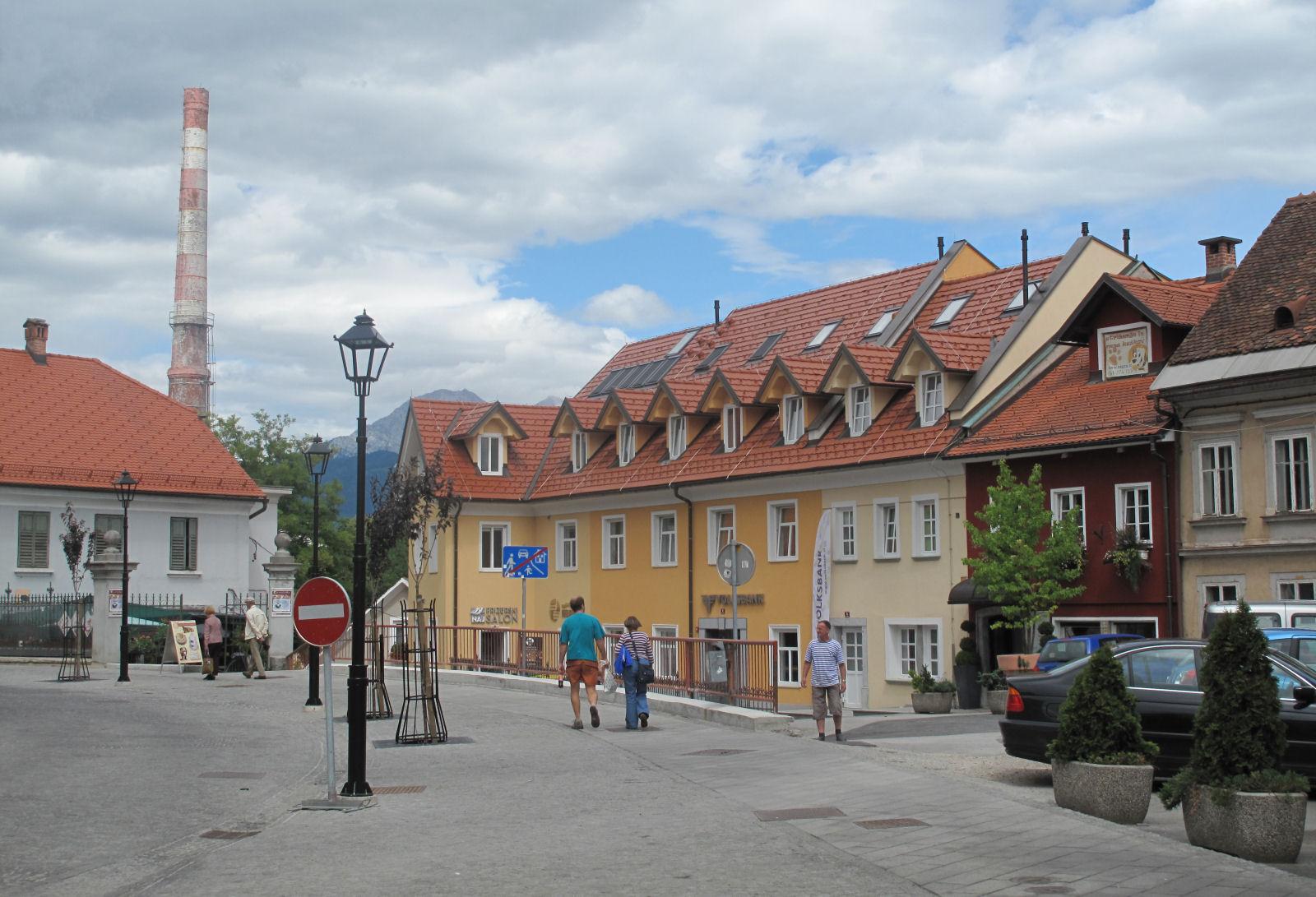A street in Kranj, Slovenia