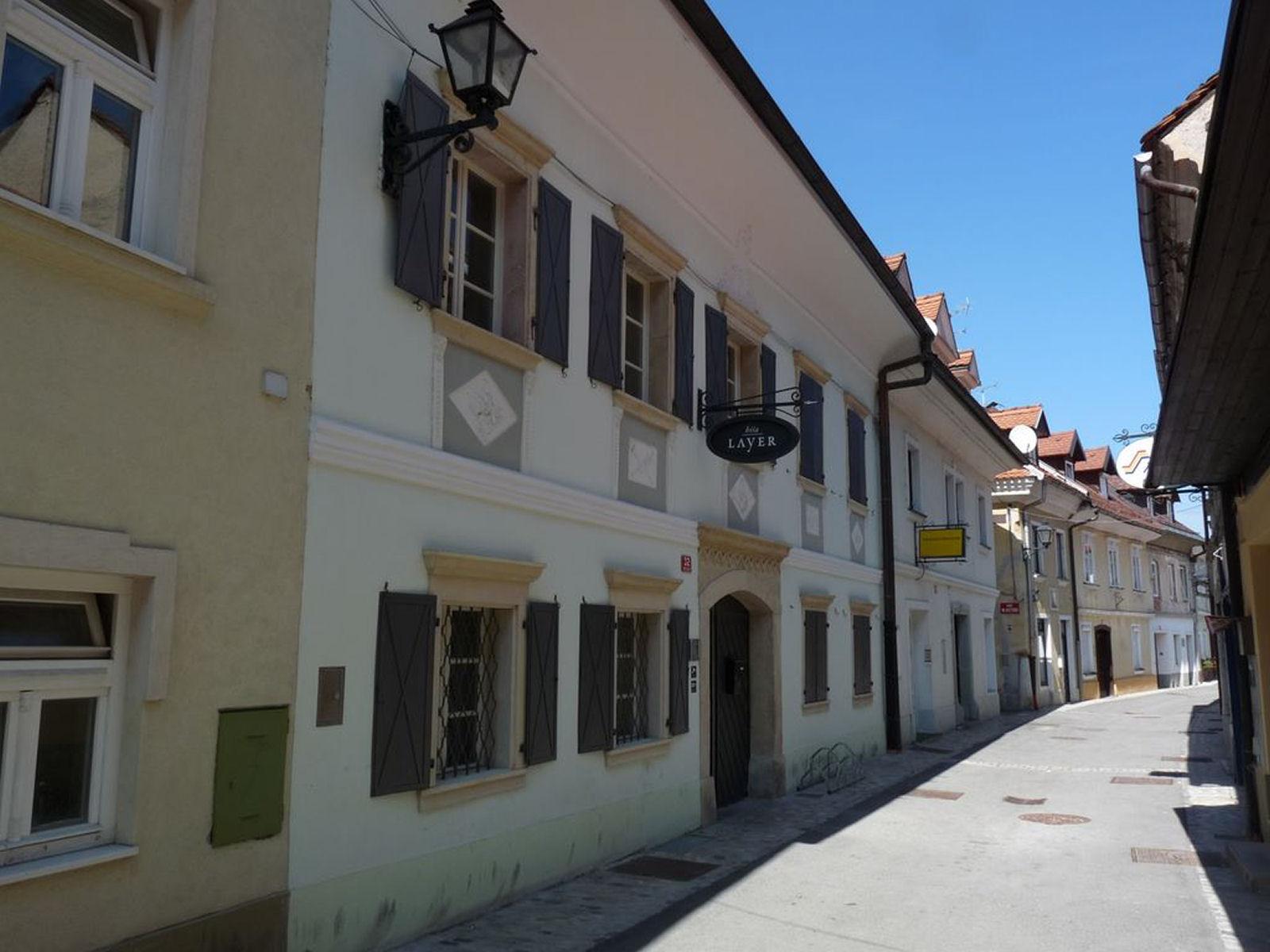Layer house in Kranj, Slovenia