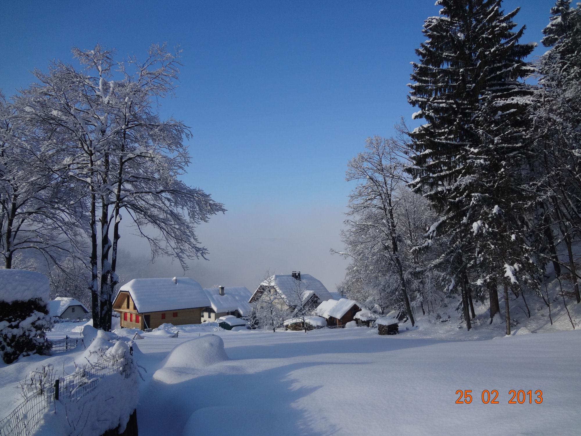 Wintertime in Gorenjska, Slovenia