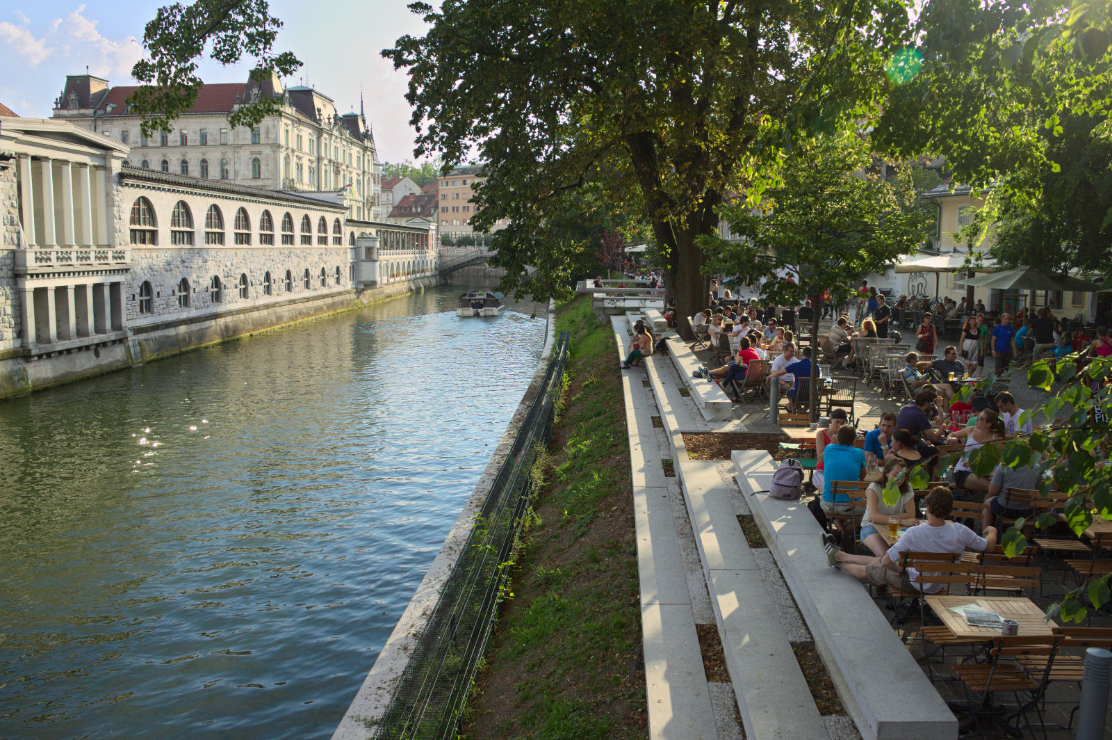 Ljubljana is full of relaxed people