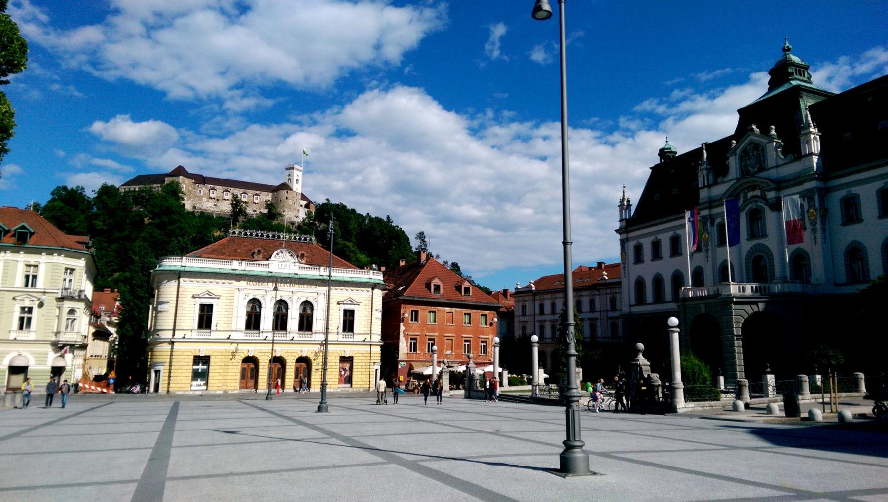 Ljubljana Congress Square, Slovenia
