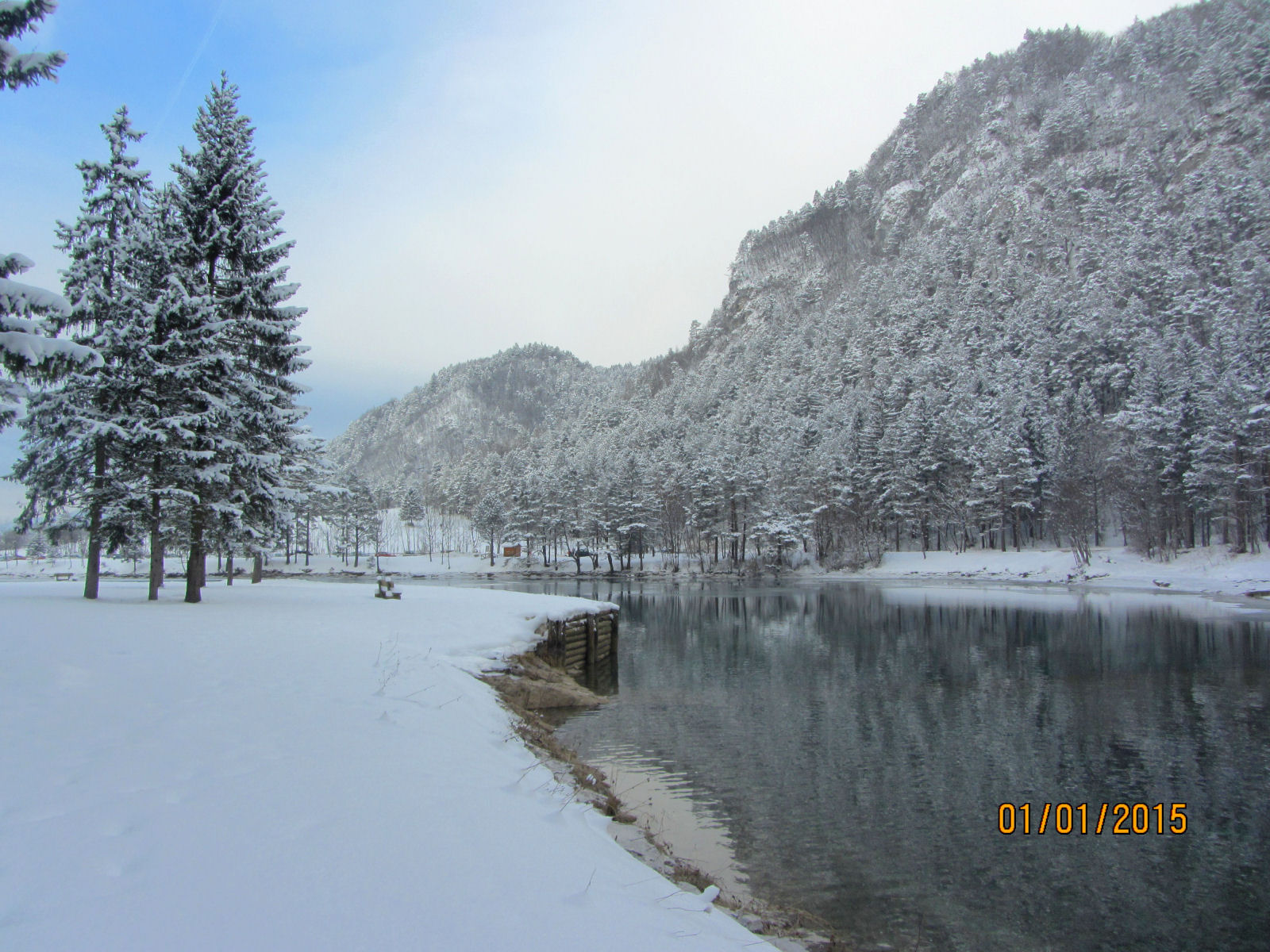 Winter fairytale in Gorenjska, Slovenia