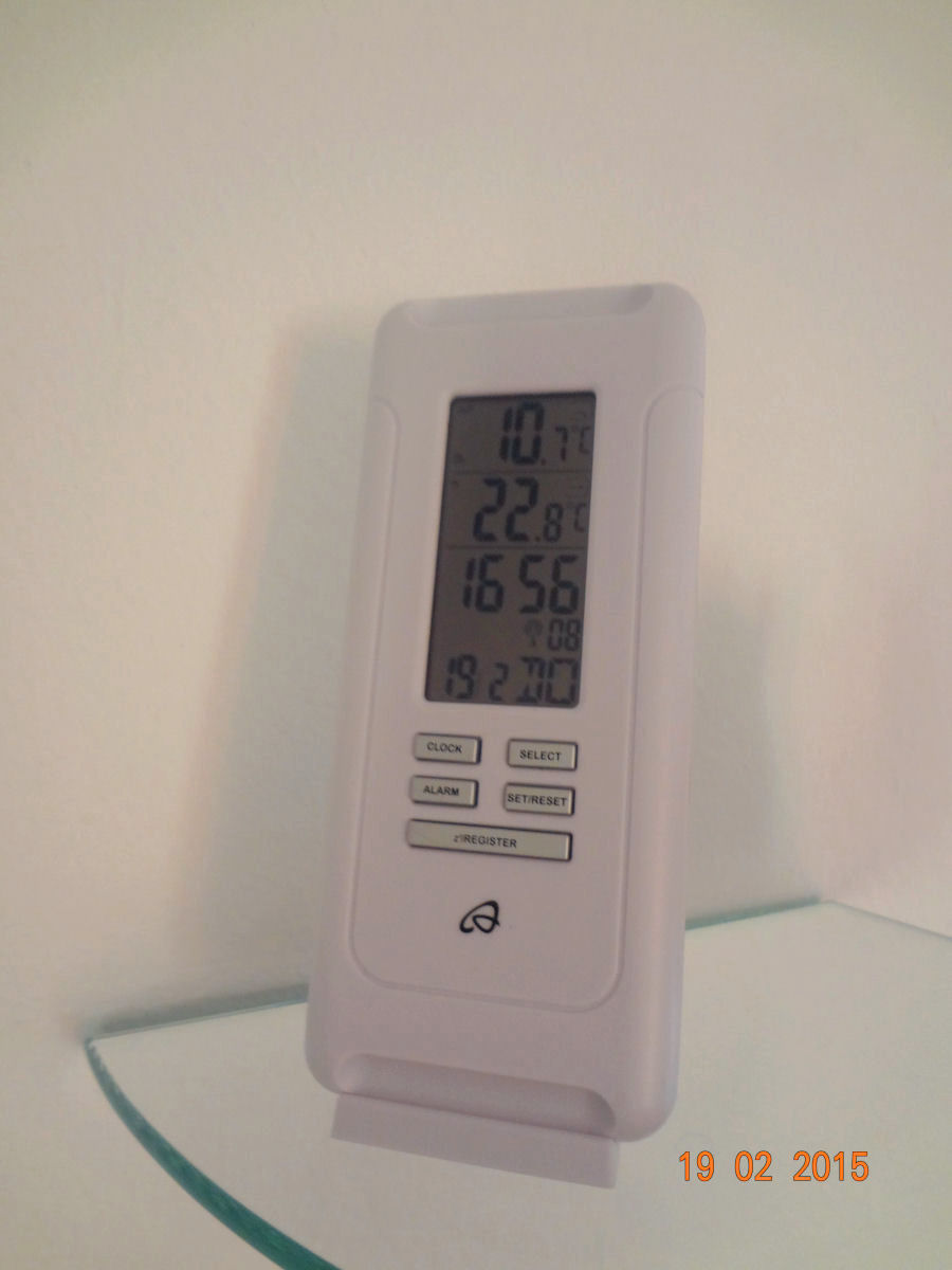 The Auriol Temperature Station is now available in Fine Stay Apartment