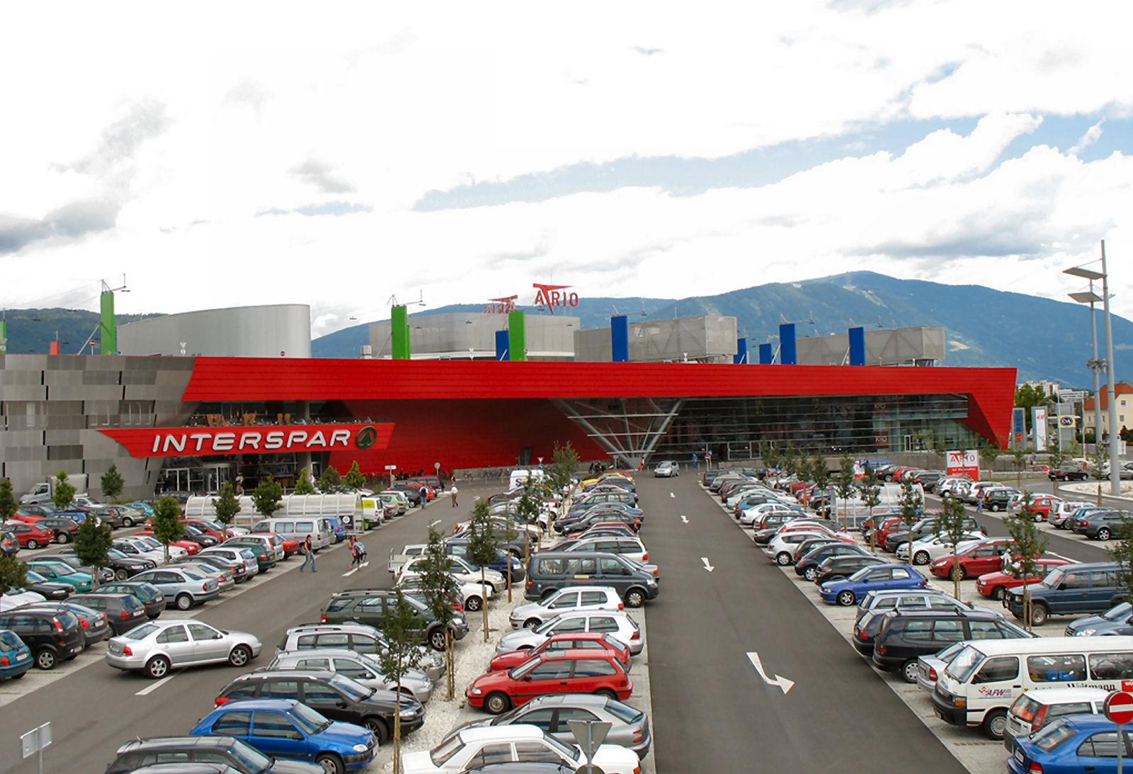 ATRIO Villach shopping centre, Austria
