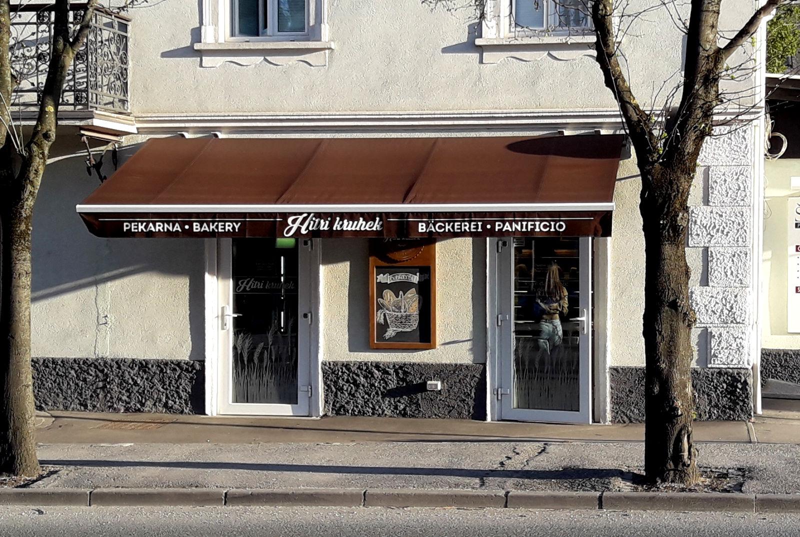 Bakery Hitri Kruhek in Bled, Slovenia