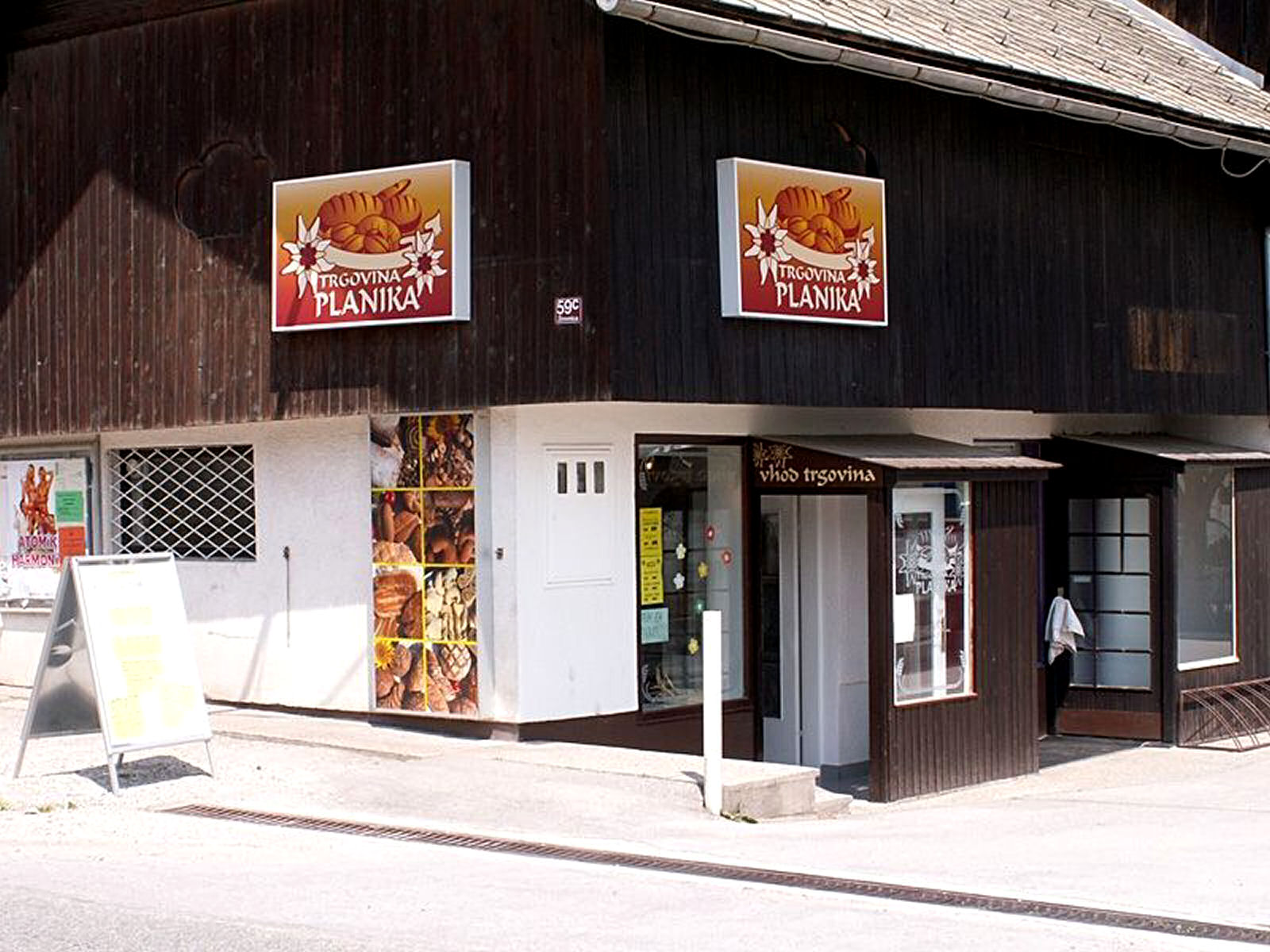 Planika Bakery in Zirovnica, Slovenia