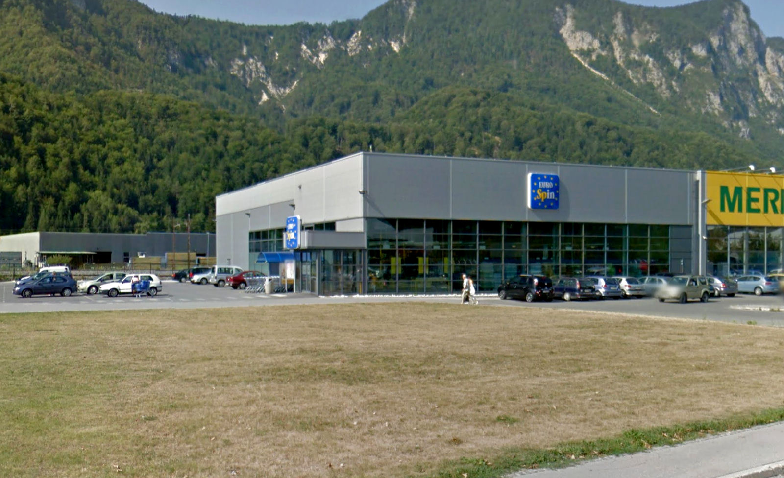 Eurospin  supermarket in Jesenice, Slovenia