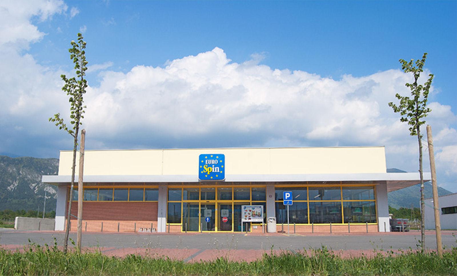 Eurospin supermarket in Lesce, Slovenia