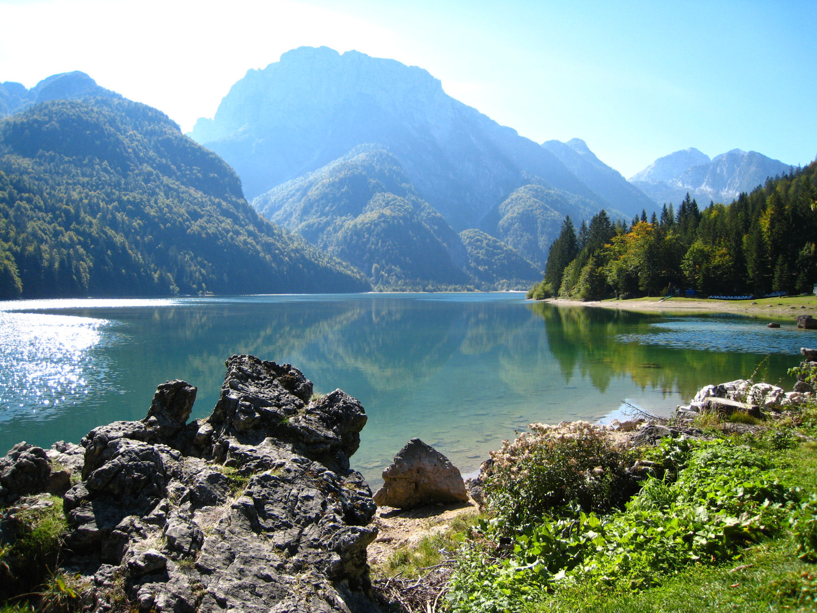 Lake Predil, near Tarvisio, Italy